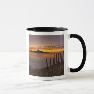 The sunrise over Isla Danzante in the Gulf of 2 Mug