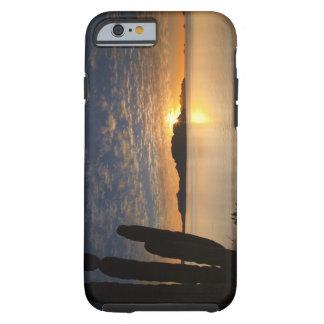 The sunrise over Isla Danzante in the Gulf of Tough iPhone 6 Case