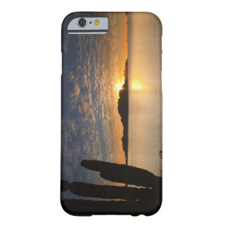 The sunrise over Isla Danzante in the Gulf of Barely There iPhone 6 Case