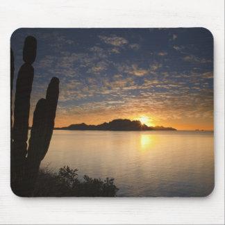 The sunrise over Isla Danzante in the Gulf of Mouse Pad