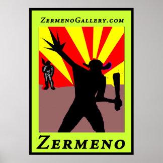 """The Sunrise Warrior"" designed by Zermeno Poster"