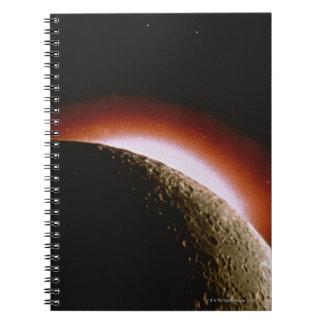 The Sun's Corona Spiral Notebook