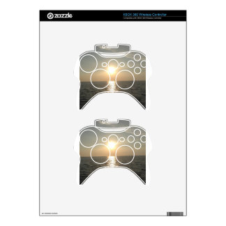 The Sunset at Bantayan Island in the Philippines Xbox 360 Controller Skin