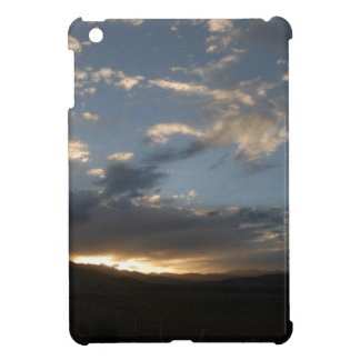 The sunset glow in Tibet iPad Mini Cover