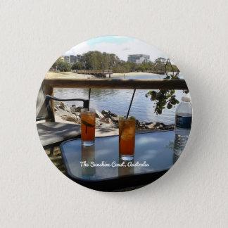 The Sunshine Coast Australia photo Button