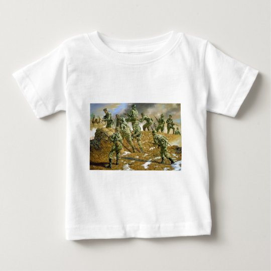 The Sunshine Division in Korea by Rick Reeves Baby T-Shirt
