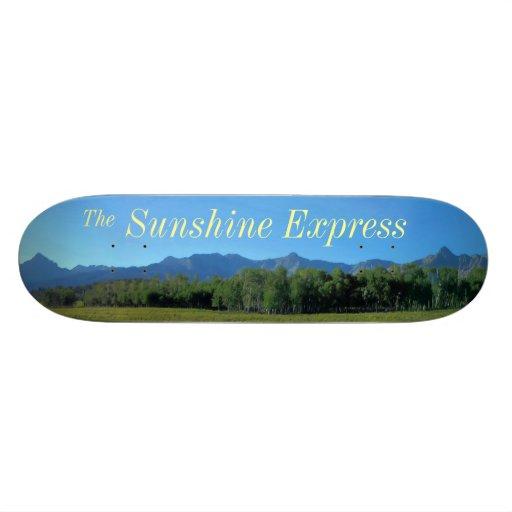 The Sunshine Express Skateboard