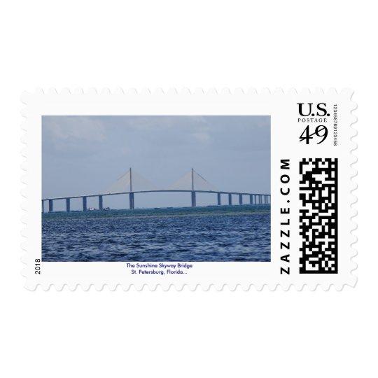 The Sunshine Skyway Bridge Postage
