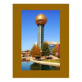 The Sunsphere - Knoxville, Tennessee, U.S.A. Postcard