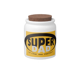 The super dad candy jar