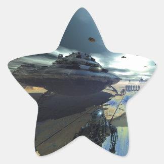 the super disk star sticker