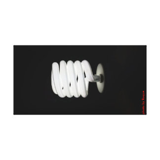 the super light bulb canvas print