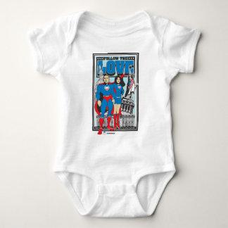 The Super Obamas Baby Bodysuit
