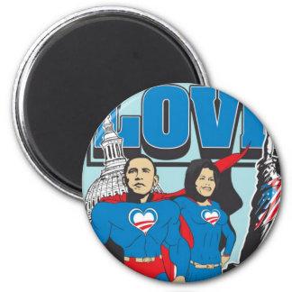 The Super Obamas Magnets