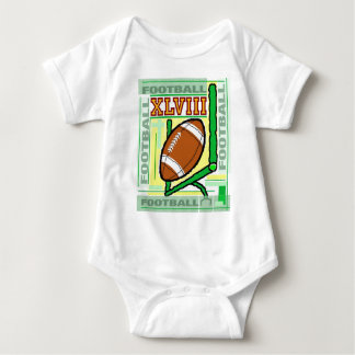 The super sport,... football. baby bodysuit