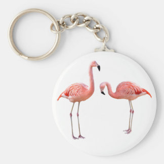 "The superior product ""of flamingo"" keychain"