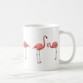 "The superior product ""of flamingo"" classic white coffee mug"