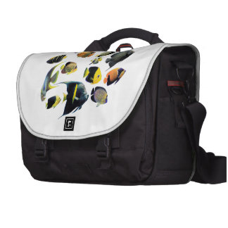 The superior product of Marine angelfish Laptop Messenger Bag