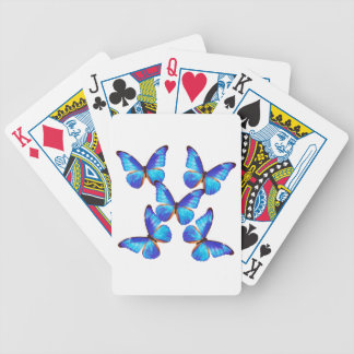 """The superior product """"of Morpho Butterfly"""" Bicycle Playing Cards"""
