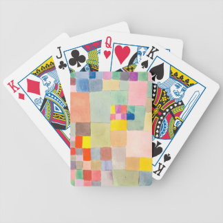 """The superior product """"of Paul Klee"""" Bicycle Playing Cards"""