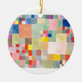 "The superior product ""of Paul Klee"" Ceramic Ornament"