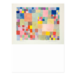 """The superior product """"of Paul Klee"""" Postcard"""