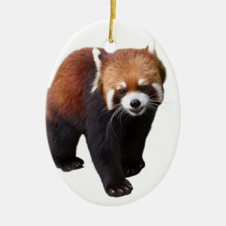 "The superior product ""of Red Panda"" Ceramic Ornament"