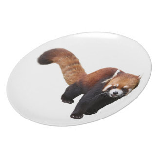 """The superior product """"of Red Panda"""" Dinner Plate"""