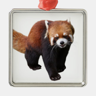 "The superior product ""of Red Panda"" Metal Ornament"