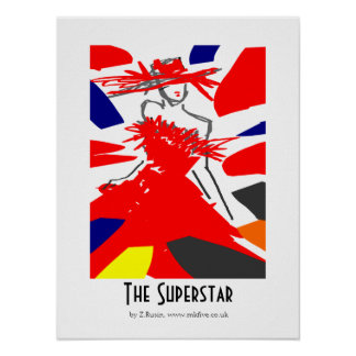 The Superstar poster art