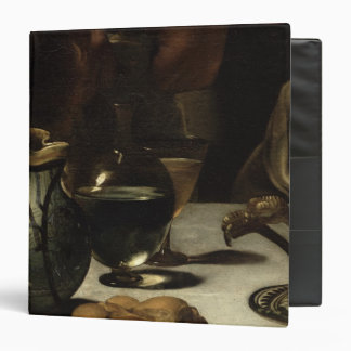 The Supper at Emmaus, 1601 3 Ring Binder