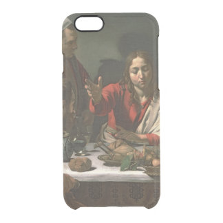 The Supper at Emmaus, 1601 Clear iPhone 6/6S Case