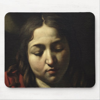 The Supper at Emmaus, 1601 Mouse Pad