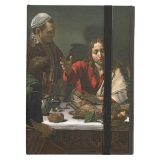 The Supper at Emmaus, 1601 (oil and tempera) Case For iPad Air