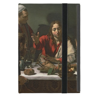 The Supper at Emmaus, 1601 (oil and tempera) Cover For iPad Mini