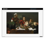 The Supper at Emmaus, 1601 (oil and tempera) Decal For Laptop