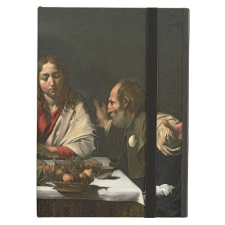 The Supper at Emmaus, 1601 (oil and tempera) iPad Air Cover
