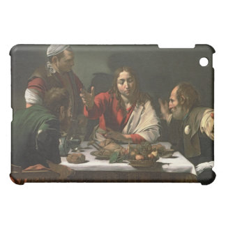 The Supper at Emmaus, 1601 (oil and tempera) iPad Mini Cover