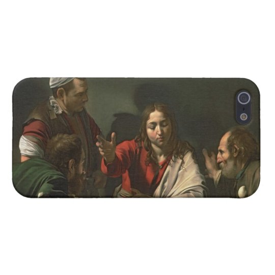 The Supper at Emmaus, 1601 (oil and tempera) iPhone SE/5/5s Cover