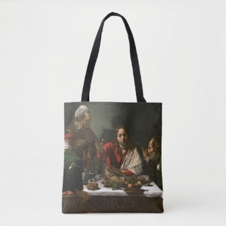 The Supper at Emmaus, 1601 Tote Bag