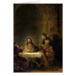 The Supper at Emmaus, 1648 Greeting Card