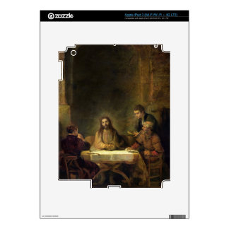 The Supper at Emmaus, 1648 (oil on panel) iPad 3 Decals