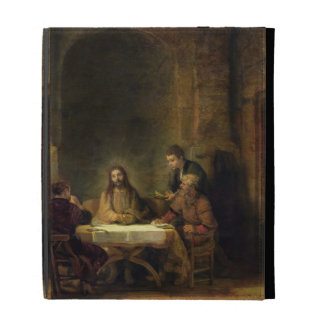 The Supper at Emmaus, 1648 (oil on panel) iPad Folio Cases