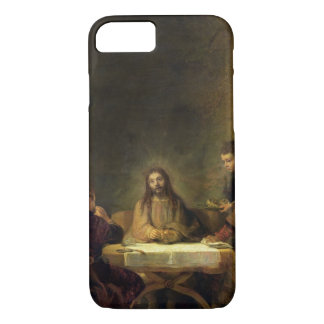 The Supper at Emmaus, 1648 (oil on panel) iPhone 7 Case