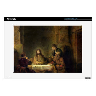 The Supper at Emmaus, 1648 (oil on panel) Laptop Decal