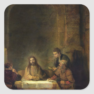 The Supper at Emmaus, 1648 Stickers