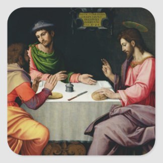 The Supper at Emmaus, c.1520 Stickers