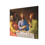 The Supper at Emmaus Canvas Prints