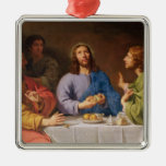 The Supper at Emmaus Metal Ornament