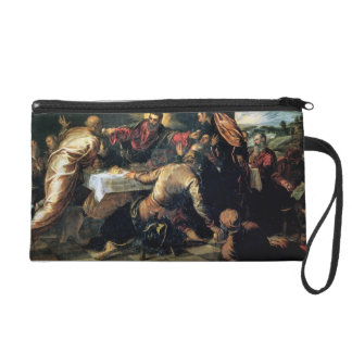 The Supper at Emmaus (oil on canvas) Wristlets